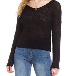 NEW Gianni Bini V-Neck Knit Sweater
